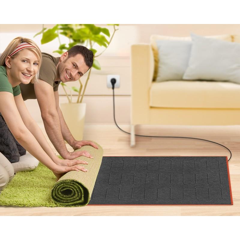 Теплый коврик электрический своими руками